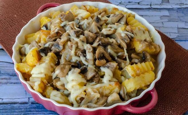 Mantarlı Patates Yemeğini nasıl yapabilirsiniz?