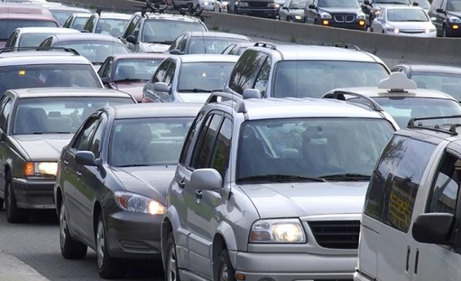 Kahramanmaraş'ta araç sayısı 234 bin 962'ye ulaştı