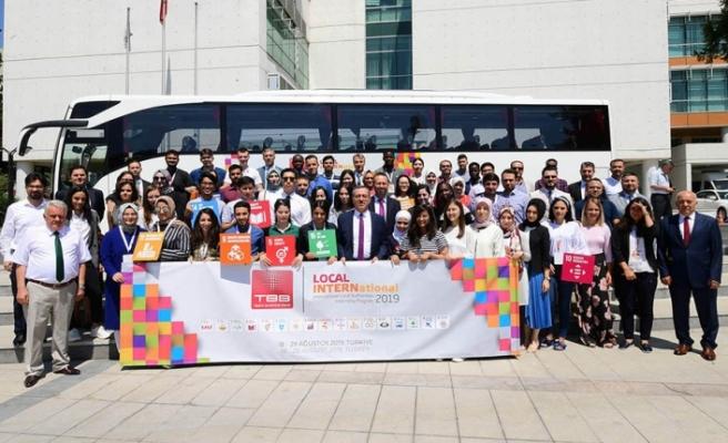 34 ülkeden gelen 41 Kültür Elçileri, Kahramanmaraş'ın misafiri oldu