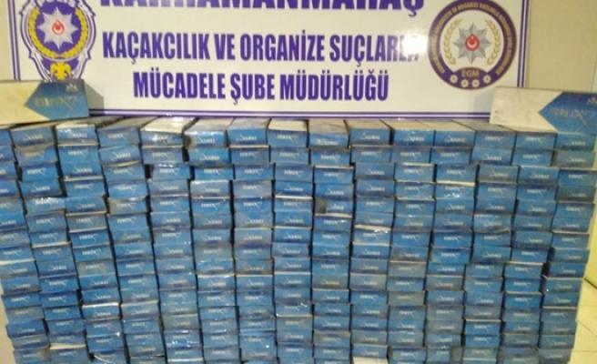 5 bin 800 paket kaçak sigara ele geçirildi