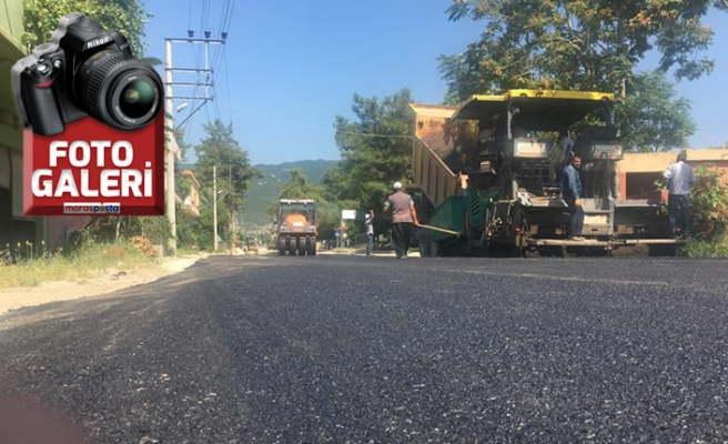 Andırın-Kadirli ana arteri asfaltlandı