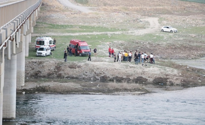 Baraj göletinde akıntıya kapılan genç kayboldu