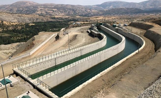 Düzbağ'ın suyu Gaziantep'te akmaya başladı