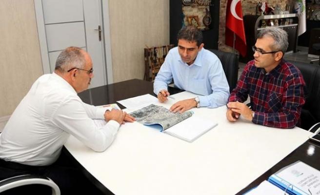 KASKİ Genel Müdürü, Öztürk ile görüştü