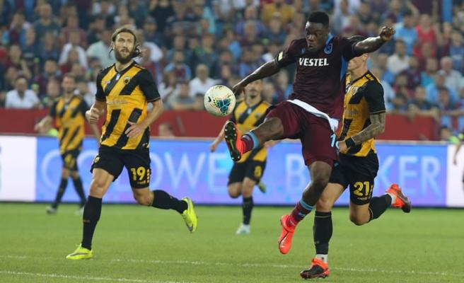 Trabzonspor 2-0 mağlup ama tur atladı!