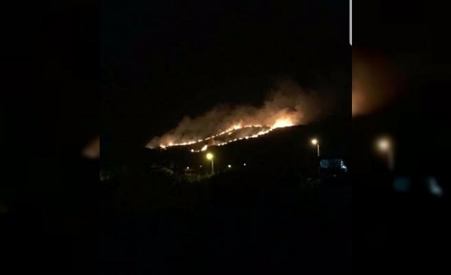 Tünel ve mağaralar bölgesindeki yangın söndürüldü