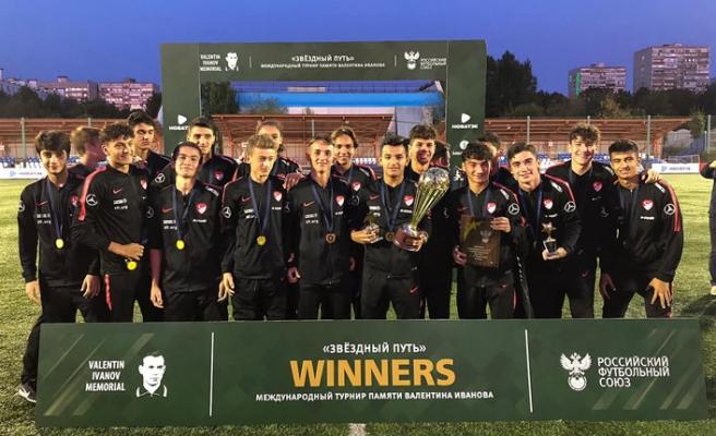 U16 Milli Takımımız, Starway Turnuvası'nda şampiyon oldu