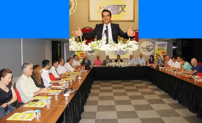 10. YÖREX Danışma Kurulu toplandı