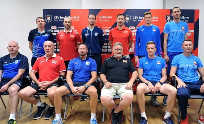 2019 CEV Erkekler Şampiyonası medya günü yapıldı