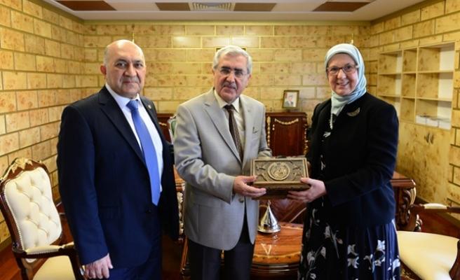 Aile ve Sosyal Politikalar Eski Bakanı KSÜ'yü ziyaret etti!