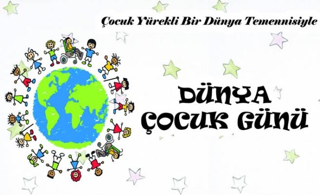 Dünya Çocuk Günü'nde çocuk hakları anlatılacak