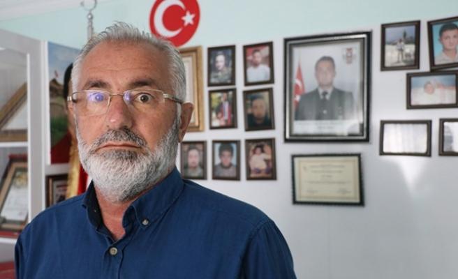 El Bab şehidinin babasından Barış Pınarı'na destek