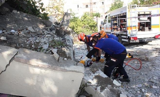 Osmaniye'de AFAD ekiplerinden deprem tatbikatı!