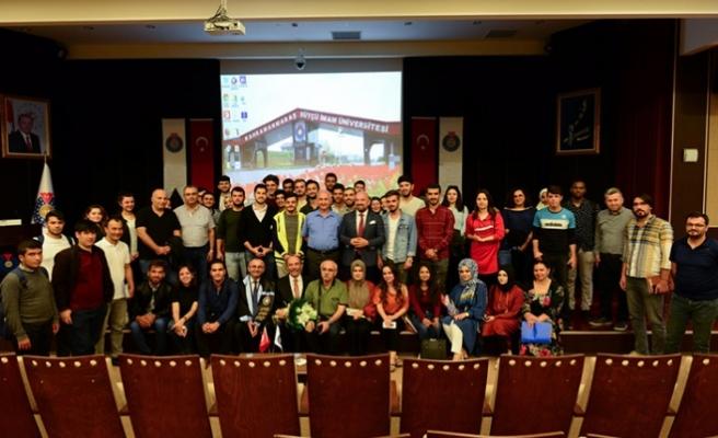 Şahin Balcıoğlu, tecrübelerini paylaştı