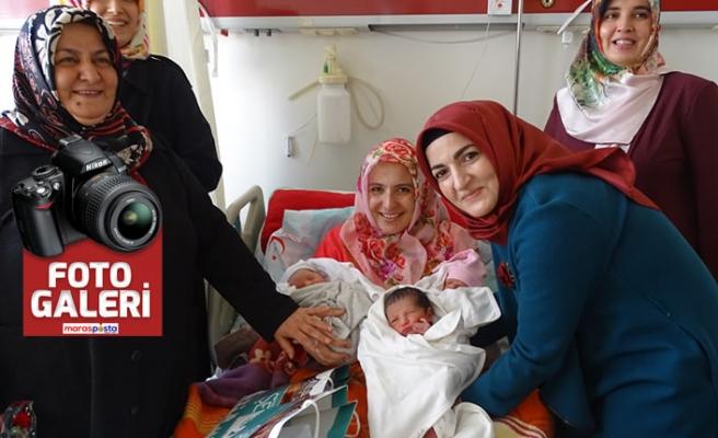 """Büyükşehir Belediyesi """"doğum hastanesini"""" ziyaret etti"""