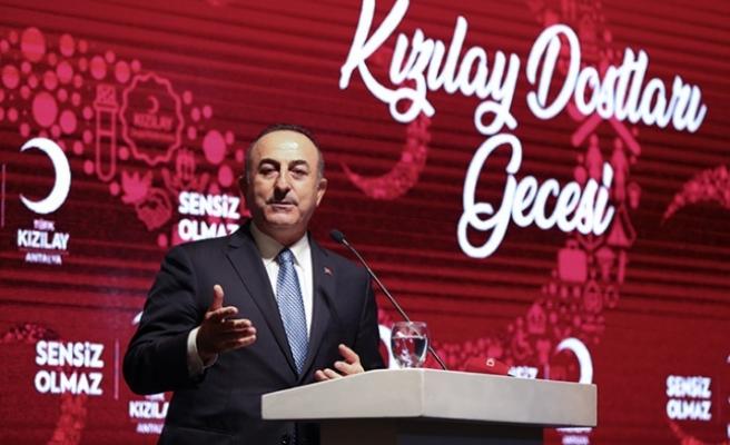 """Çavuşoğlu: """"Büyük bir oyunu bozduk"""""""