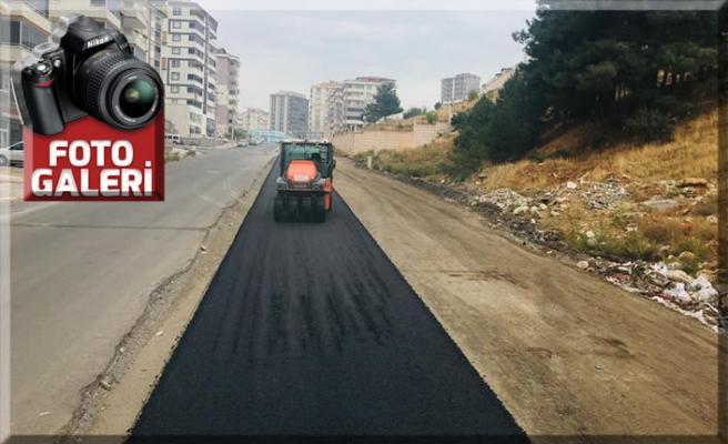 Vadi Mahallesi'nde asfaltlama tamamlandı