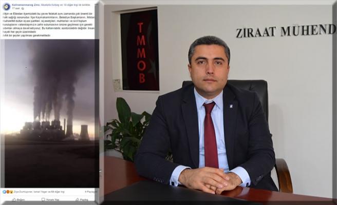 ZMO'dan zehir saçan santrallere tepki