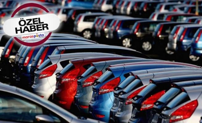 Kahramanmaraş'ta araç sayısı 235 bin 383'e yükseldi