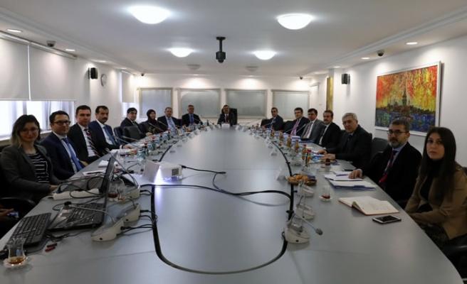 KSÜ Rektörü, Türkiye Adalet Akademisi Danışma Kurulu toplantısına katıldı