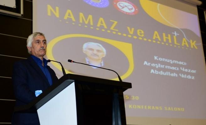 Abdullah Yıldız, KSÜ'de 'Namaz ve Ahlak'ı anlattı!