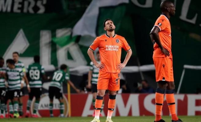 Başakşehir, deplasmanda Sporting Lizbon'a 3-1 kaybetti