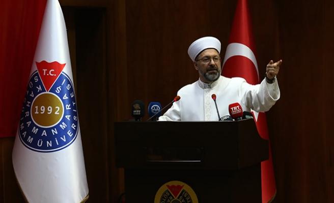 Diyanet İşleri Başkanı Erbaş, üniversite öğrencileriyle buluştu
