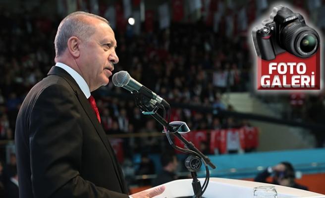 Erdoğan, Kurtuluşunun 100'ncü Yıl Dönümü'nde konuştu!