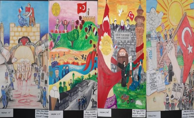 'Kahramanmaraş İstiklal Ruhu' resim yarışması sonuçlandı