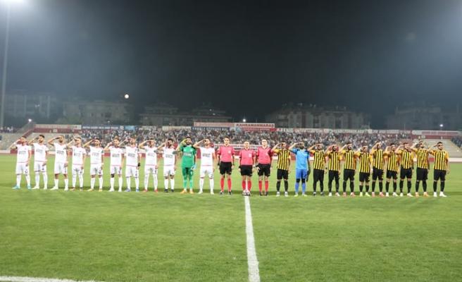 Kahramanmaraşspor, Bayburt'ta farklı galip: 3-0