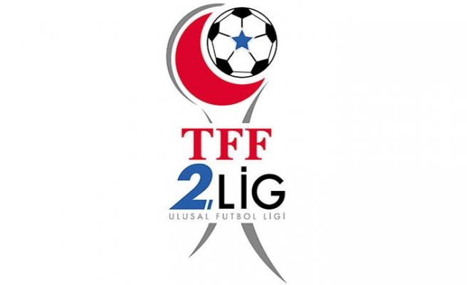 TFF 2.Lig Kırmızı Grup Maçları, Cumartesi günü oynanacak
