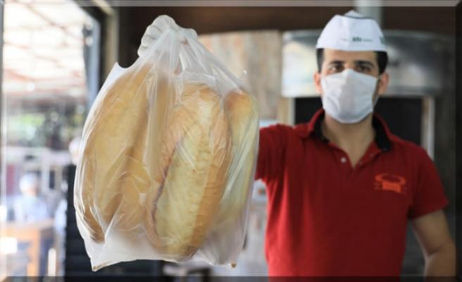Ekmeğin ambalajı yoksa görevli verecek!