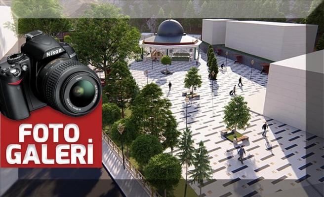 """Büyükşehir, Ekinözü'ne """"Millet Meydanı"""" yapıyor"""