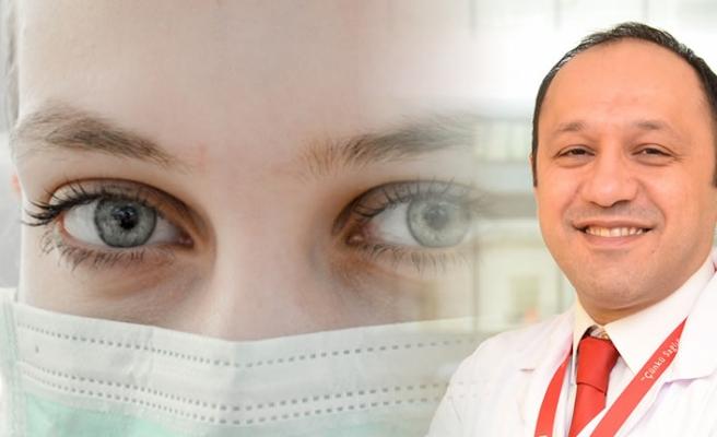 Koronavirüsten korunmak için göz sağlığınıza da dikkat edin