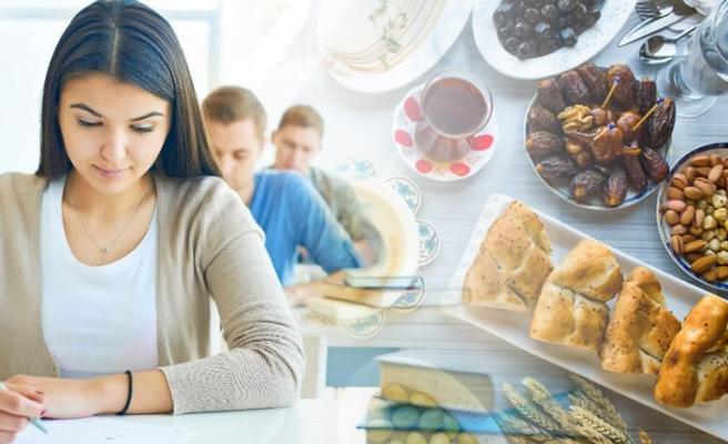 Sınav günü nasıl beslenmeli?