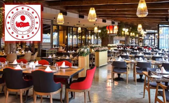 Lokanta, restoran, kafe, kıraathane vb. iş yerlerinin çalışma saatlerinde kısıtlama kaldırıldı