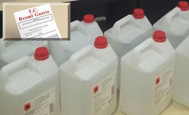 Evsel kullanım amaçlı etil alkolün satışı yapılamayacak