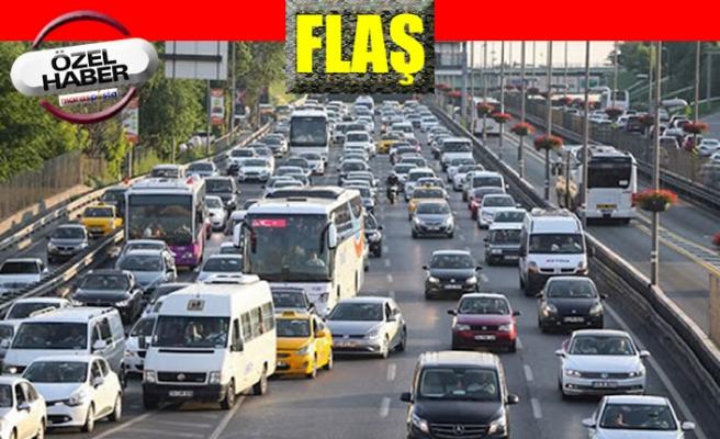 Kahramanmaraş'ta 245 bin 399 trafiğe kayıtlı araç bulunuyor