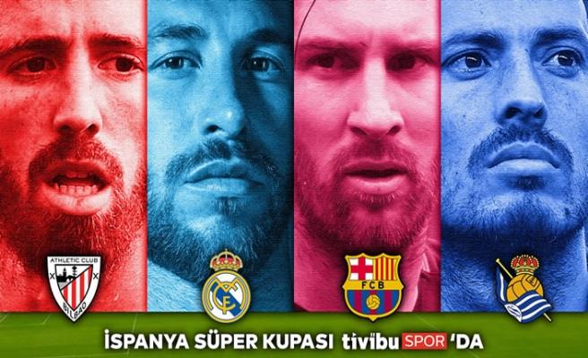 İspanya Süper Kupası Tivibu'da