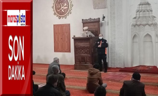 AFAD camilerde farkındalık eğitimi verdi!