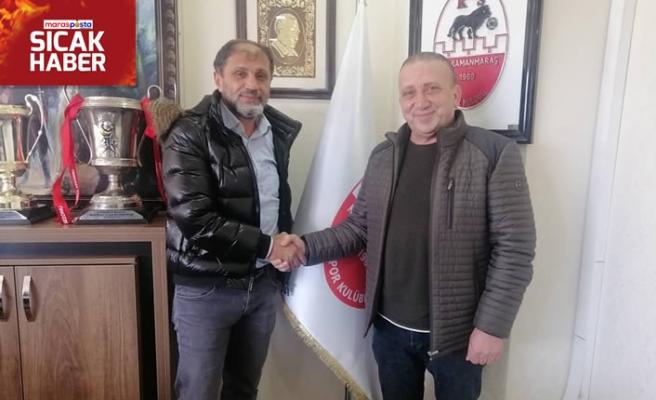 Kahramanmaraşspor'da teknik patron Güngör oldu