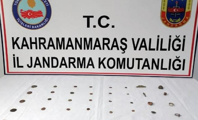 Kahramanmaraş'ta tarihi eser kaçakçılığı...