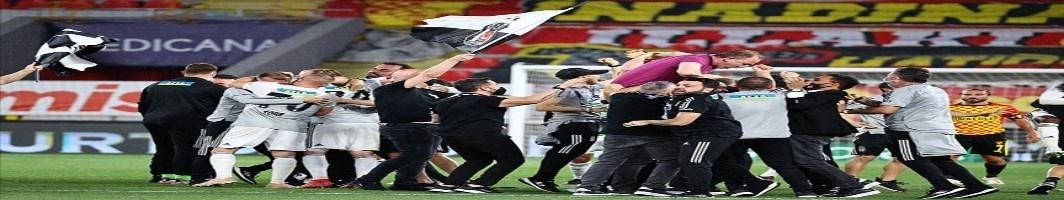 Süper Lig'de şampiyon: Beşiktaş