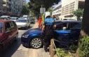Yaya geçidini yol sandı, polis engelledi!