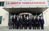 Sanayilerin sorun ve talepleri, Varank'a sunuldu