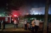 Muhtarlık binasında yangın korkuttu