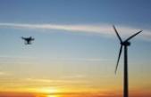 Rüzgar türbinlerine drone teknolojisi ile hizmet veriliyor