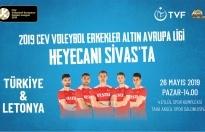 A Erkek Voleybol Milli Takımımız, Sivas'ta…