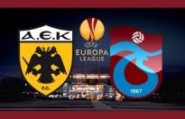 Trabzonspor, AEK karşısında