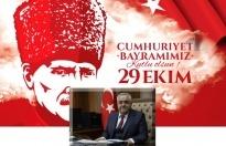 Prof. Özgül'ün cumhuriyet bayramı mesajı